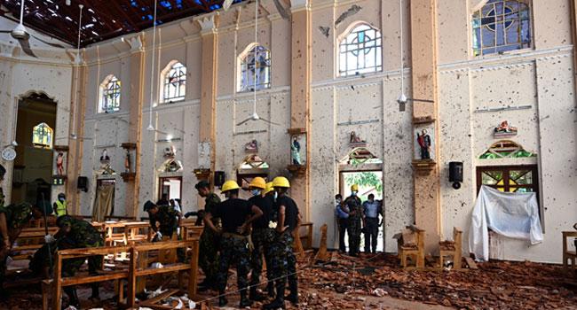 Sri Lanka Government Blames Local Islamist Group For Attacks