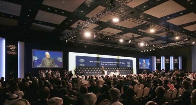 PHOTOS: Buhari Addresses Leaders At World Economic Forum