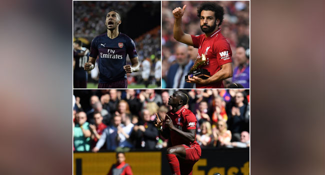 African Trio Share Premier League Golden Boot