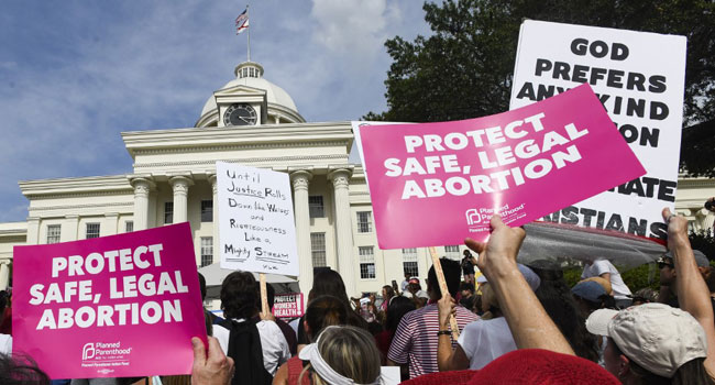 Thousands Protest Alabama Abortion Law