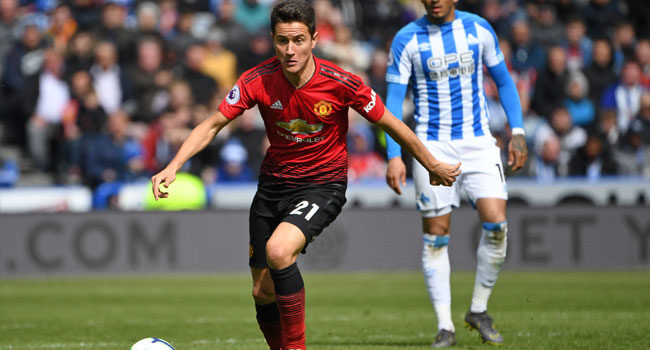 Herrera Confirms Man United Exit