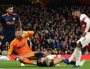 Arsenal Edge Towards Europa League Final With 3-1 Victory Over Valencia