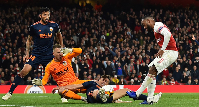 Arsenal Edge Towards Europa League Final With 3-1 Victory Over Valencia