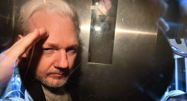 Assange Sentenced To 50 Weeks For Breaching UK Court Order