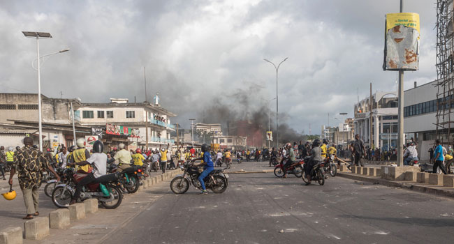 Poll Violence: Protesters Locked In Standoff With Police, Army In Cotonou