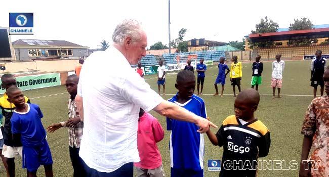 Bonfrere Jo Makes Surprise Visit To Channels Int'l Kids Cup Venue