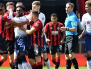 Bournemouth BeatNine-Man Tottenham WithAke's LateStrike