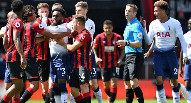 Bournemouth BeatNine-Man Tottenham After Ake's LateStrike