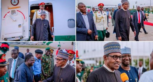 'Can They Now Swallow Their Words?' Presidency Mocks Opposition As Buhari Returns