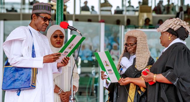 Jonathan, Obasanjo Absent At Buhari's Inauguration