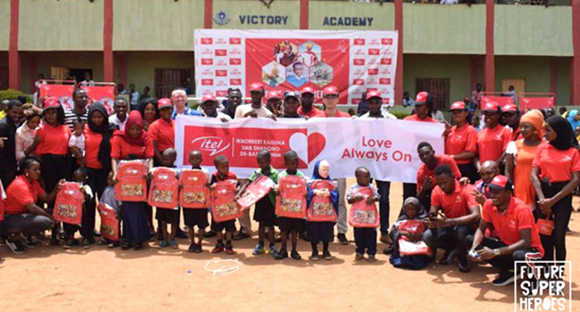 Celebrating Our Future Super Heroes: itel Mobile Surprises Children Nationwide