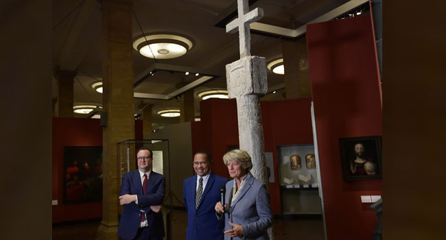 Germany To Return 15th-Century Stone Cross To Namibia