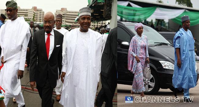 Business Leaders, Other Dignitaries Attend Buhari, Osinbajo's Inauguration