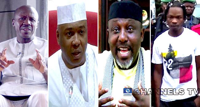Magu Speaks About EFCC Probe Of Saraki, Okorocha, Naira Marley
