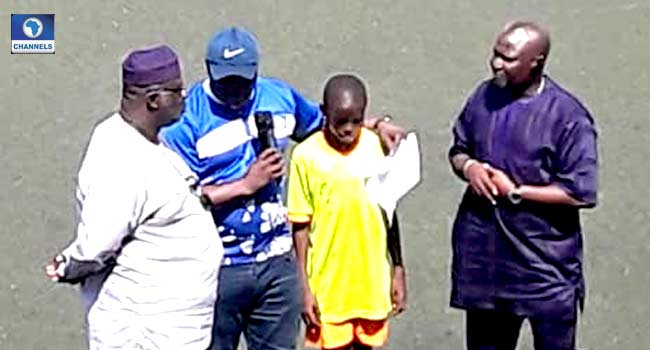 Channels Kids Cup: Edo Player Gets N100,000 Reward For Returning Missing Phone