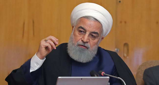 Iran President Asks Armed Forces To Apologise Over Downed Plane