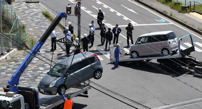 Two Children Killed As Car Ploughs Into Nursery In Japan