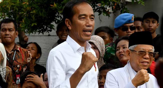 Joko Widodo Wins Second Term As Indonesia's President