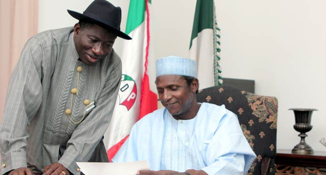 'Nine Years Ago, I Lost A Friend,' Jonathan Pays Tribute To Yar'Adua