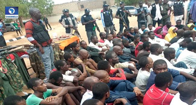 Operation Puff Adder: Police Arrest 70 Kidnap Suspects In Katsina