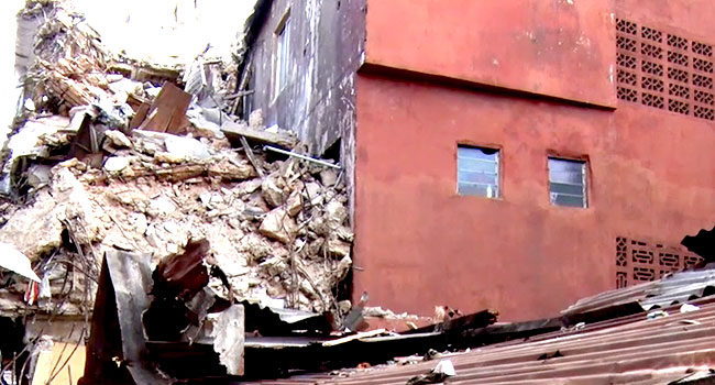Building Collapse – Channels Television