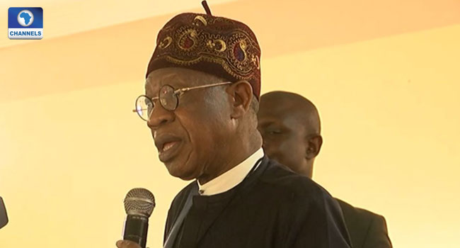 Lai Mohammed Accuses PDP Of Attempts To Sabotage Buhari's Government