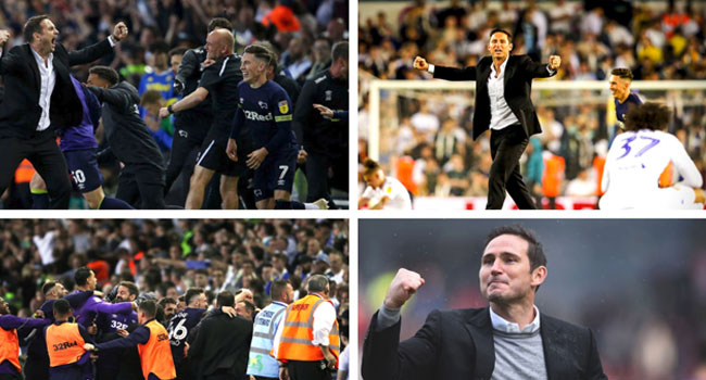 Frank Lampard's Derby County Beat Leeds 4-2 To Reach Championship Play-Off Final