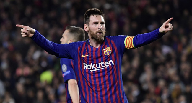 It's Not Over Yet, Messi Warns After Barca Masterpiece