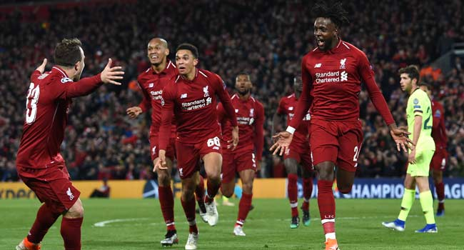 Never-Say-Die Spirit Propels Liverpool To The Brink Of Glory