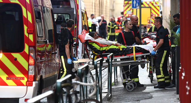 Several Hurt In Package Bomb Blast In France