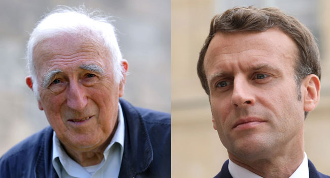 Macron Honours Jean Vanier, Ally Of Mentally Disabled