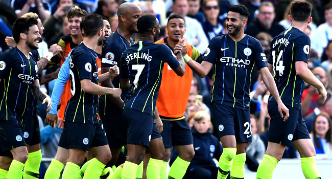 Man City Lead Liverpool By One Point To Retain Premier League Title