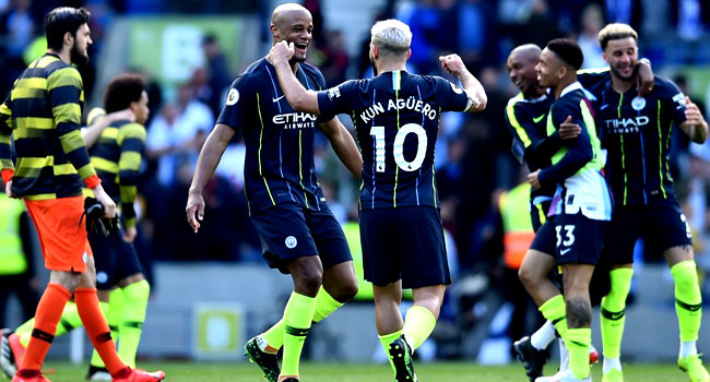 UPDATED: Manchester City Beat Liverpool By One Point To League Title Victory