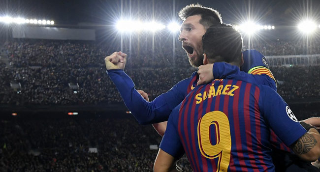 Messi, Suarez Power Barcelona To 3-0 Victory Over Liverpool