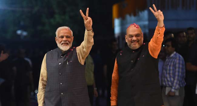 Modi Set For Landslide Victory In Indian Election