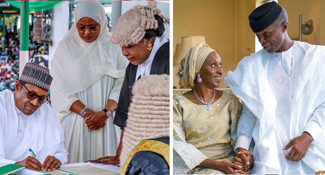 Buhari, Osinbajo Sworn In For Second Term