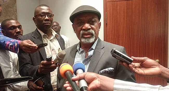 Ngige Describes Picketing Of His House By NLC As 'Hooliganism'