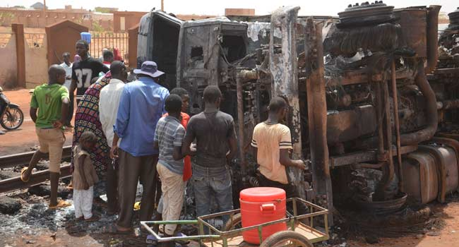 Niger Mourns After Tanker Explosion Kills 60