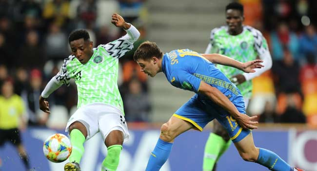 U-20 World Cup: Flying Eagles Qualify For Round Of 16 After Ukraine Draw