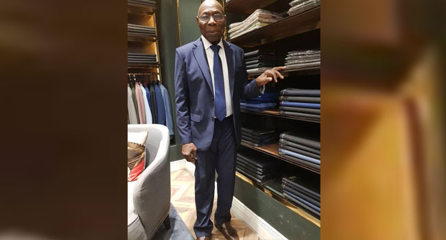 Photos: Obasanjo Swaps Trad For Suits