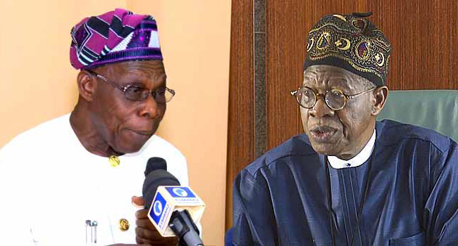 FG Replies Obasanjo, Says His Comment On Boko Haram Is Divisive