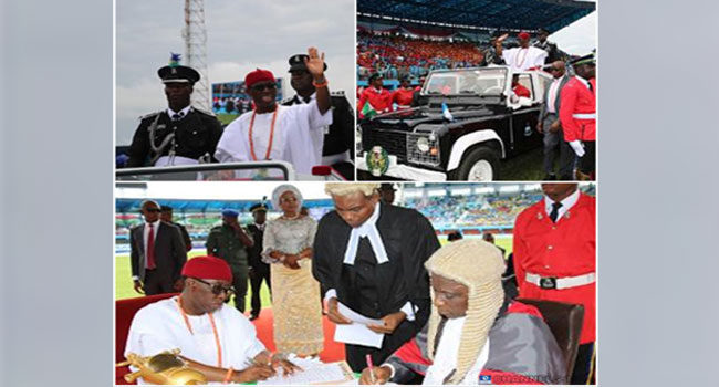 Inauguration: I Took An Oath To Build A Stronger Delta, Says Okowa