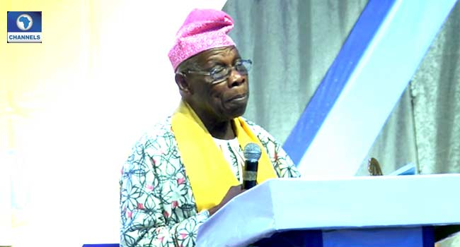 Obasanjo Calls On Nigerians To Serve, Protect Human Dignity