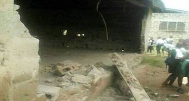 Student Killed As School Building Collapse In Ondo