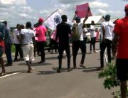 Ondo Youths Protest Over Lack Of Development In Ilaje