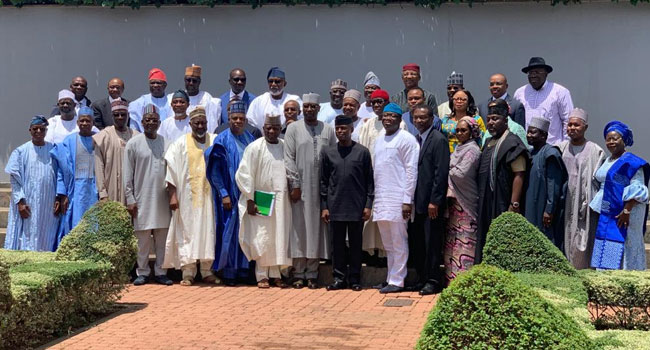Osinbajo Chairs NEC Valedictory Session