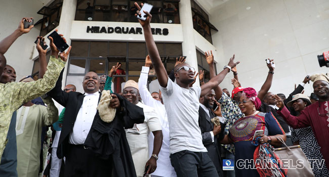 Osun Election: Supporters Celebrate Oyetola's Victory At Appeal Court