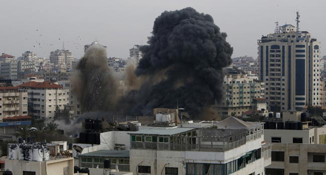 Two Killed In Rocket Strike From Gaza On Israeli City