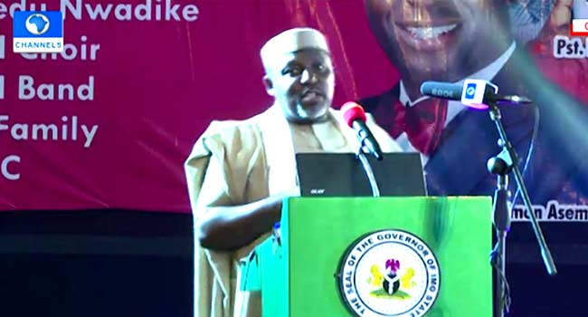 Okorocha Inaugurates Over 100 Projects Days To End Of Tenure