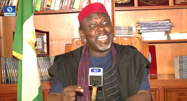 'Uzodinma Should Wake Up': Okorocha Replies To N106bn Fraud Allegation